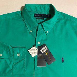 NEW Men's Ralph Lauren Feather Weight Twill Shirt